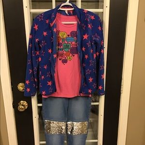 Girls Clothes Size L All Four Pieces For $21
